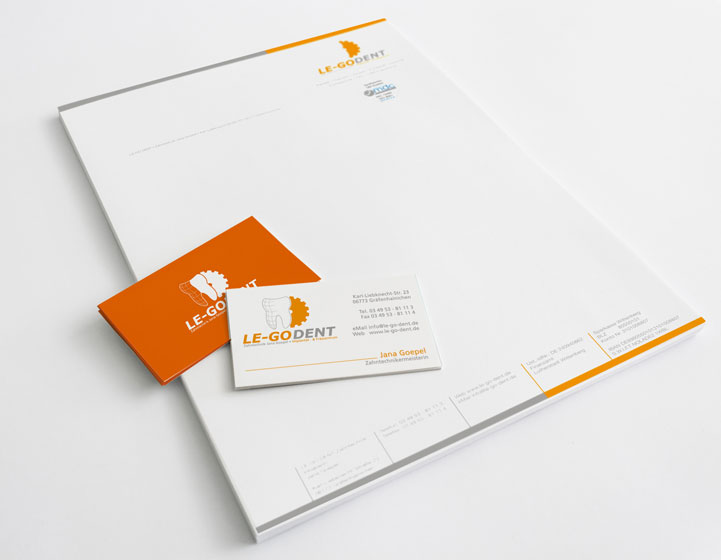 Projekt Corporate Design, Werbemedien, TYPO3